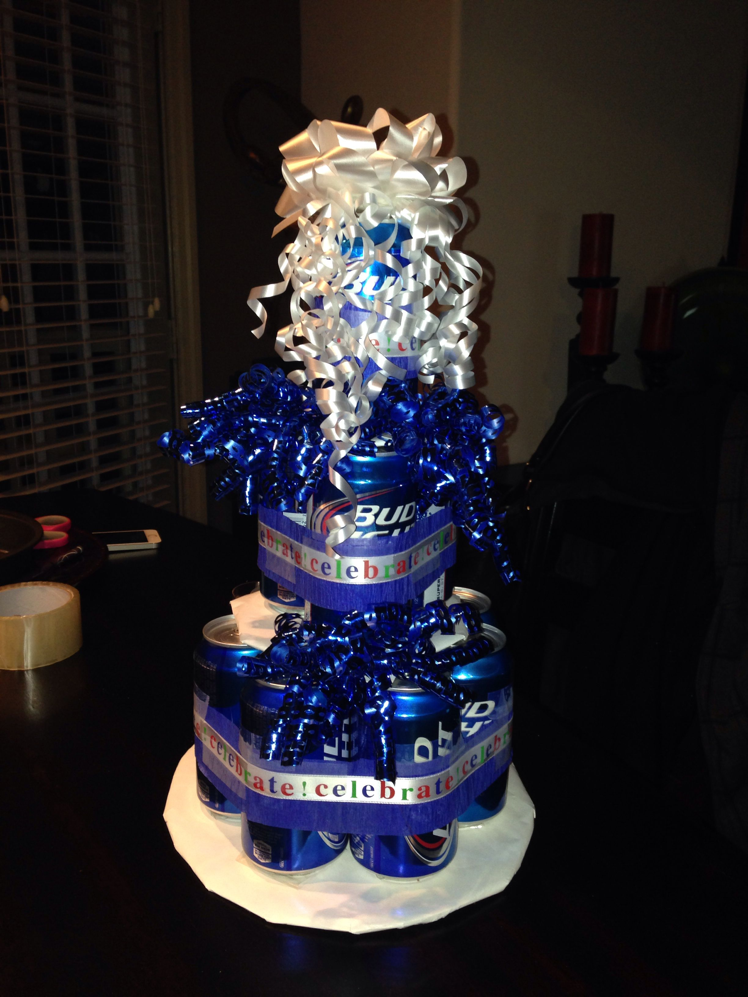 Bud Light Beer Cake Beer Cake Cake Bud Light Beer Birthday