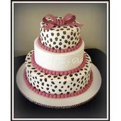 Cheetah Print Cakes Design Pic 14 picture 2189 cake Pinterest