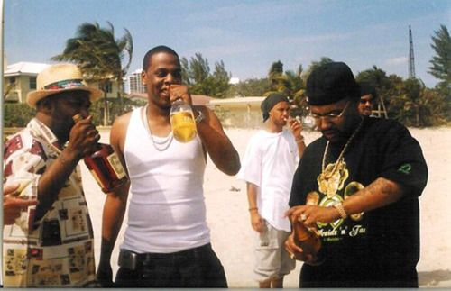 "Photo OP: UGK & Jay Z On The Set Of ""Big Pimpin'"""