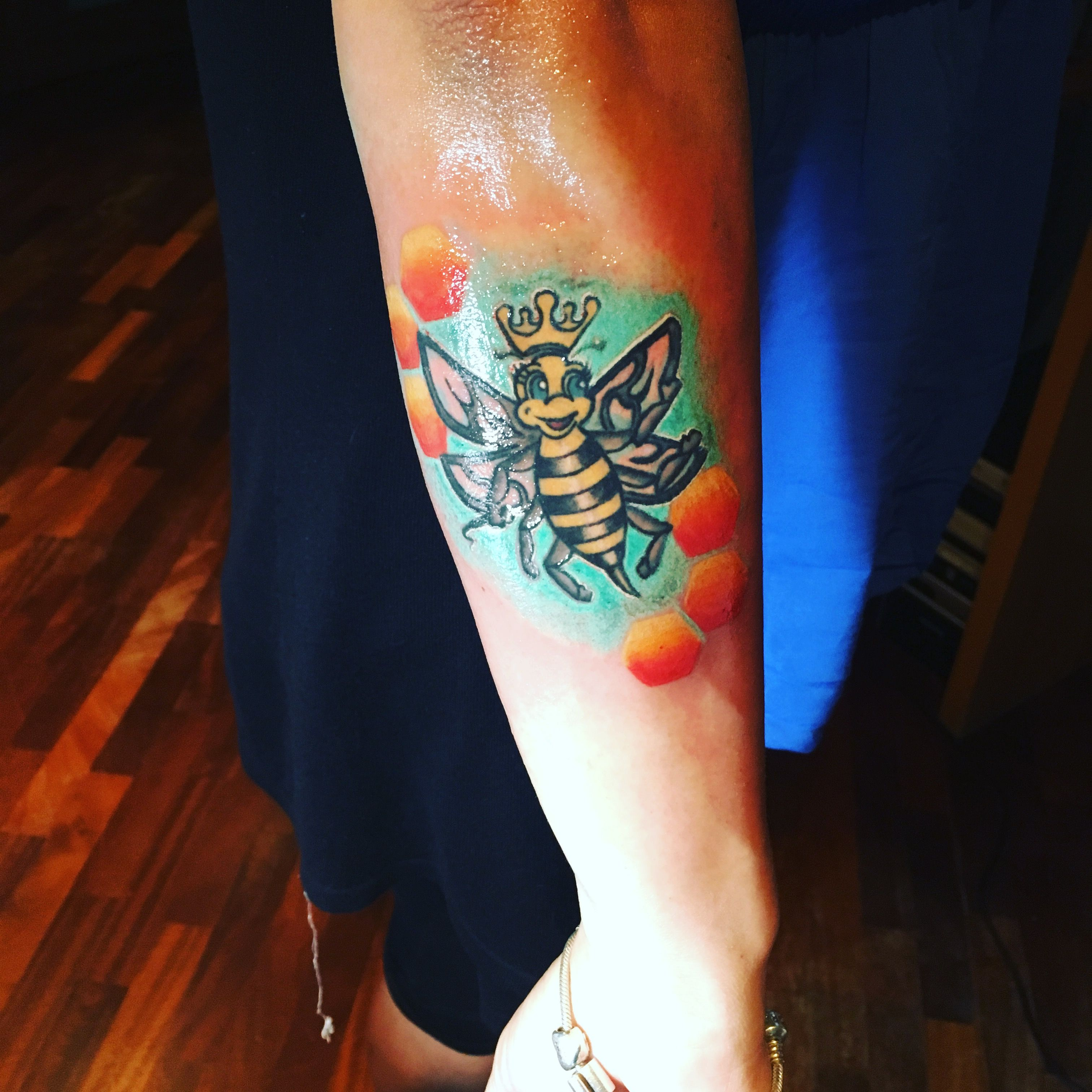 Queen Bee Tattoo, dedicated to the one and only Beyoncè