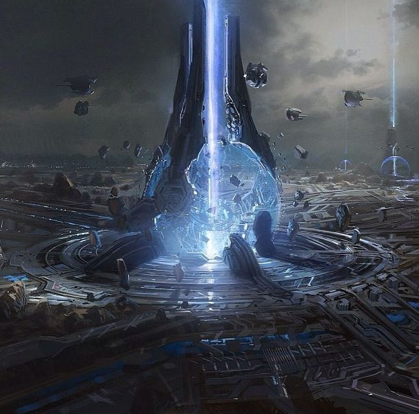 Halo Live Wallpaper: Jerry Volland Inertial Mechanical Anti-Gravity