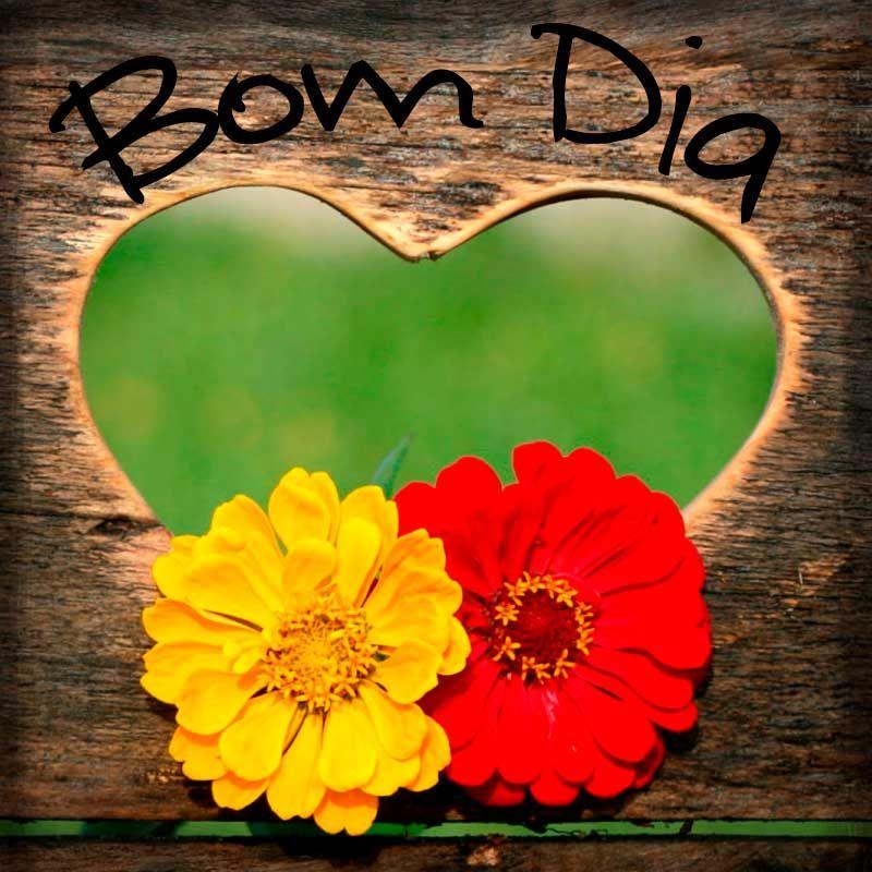 Frase De Bom Dia Com Coracao Imagem Gratis Frases De Bom Dia