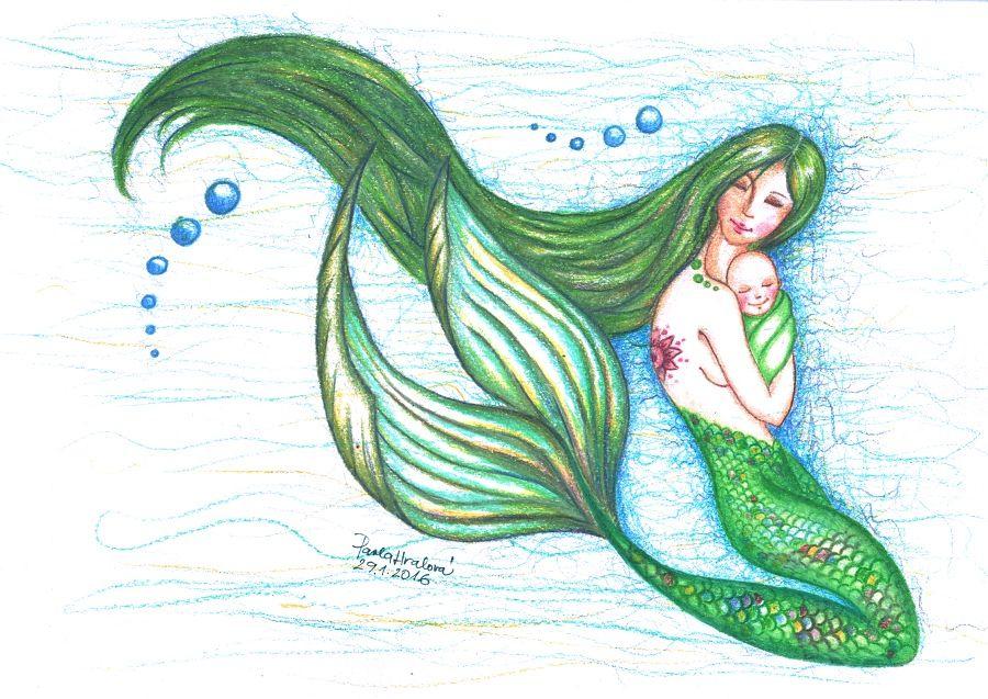 Mořská panna - Pavla Hralová