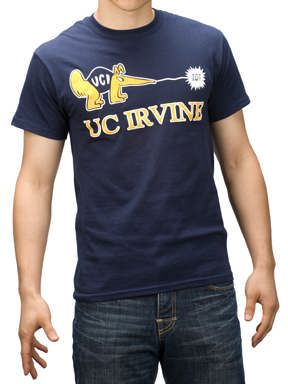 UC Irvine Zot Anteater Tee - Navy