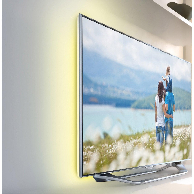 Ruban Led Tv 2 X 05m Blanc Chaud 3000k Inspire Products