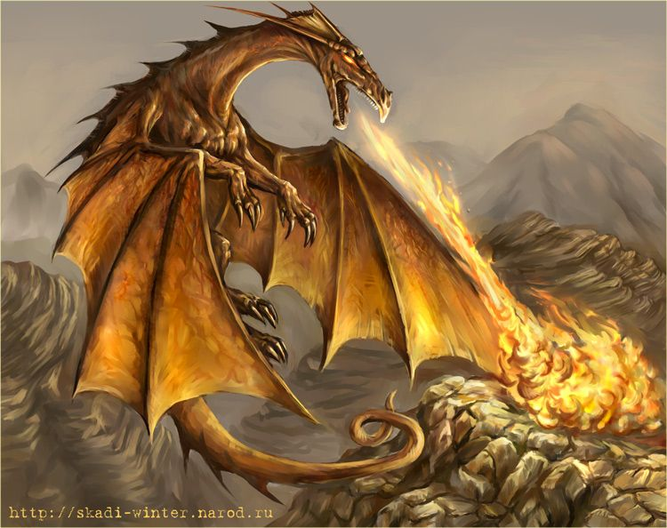 Awesome Dragons   30 Awesome Red Dragon Artworks   #1 Design Utopia Trend