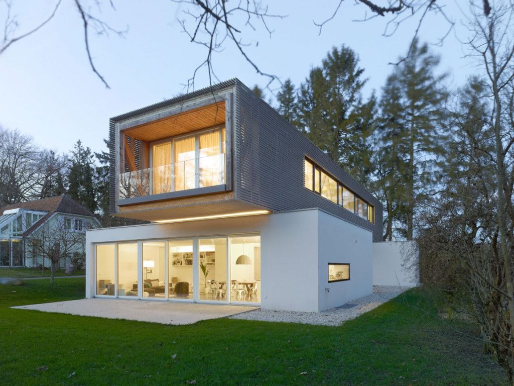 Single Family House Christian Von During Architecte Modern Exterior Family House House Extensions