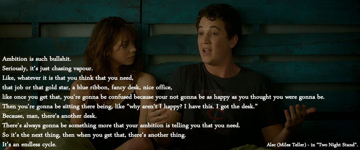 It S An Endless Cycle Movie Two Night Stand