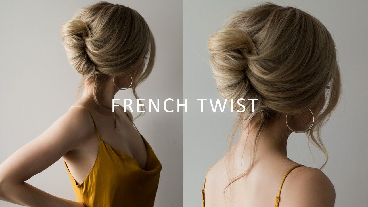 Every Woman Should Know How To Do A Classic French Twist A Style That Works Great Day Or Night French Roll Hairstyle Roll Hairstyle French Twist Hair