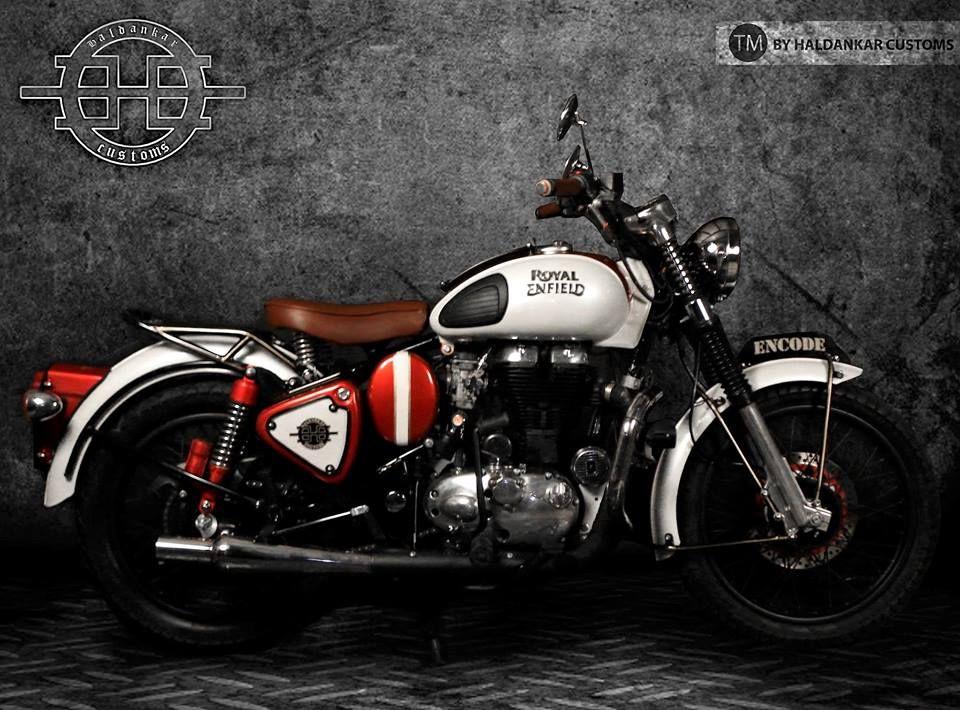 Encode Royal Enfield Classic 500 By Haldankar Customs Enfield