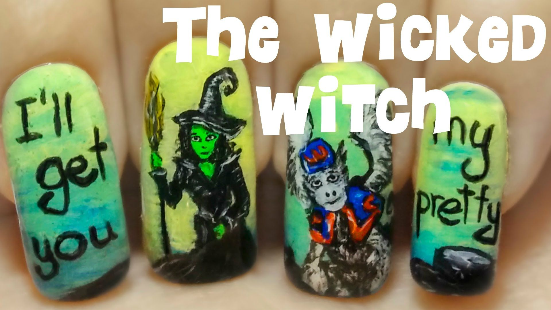 The Wicked Witch of the West (The Wizard of Oz - Part 4) ⎮ Freehand ...