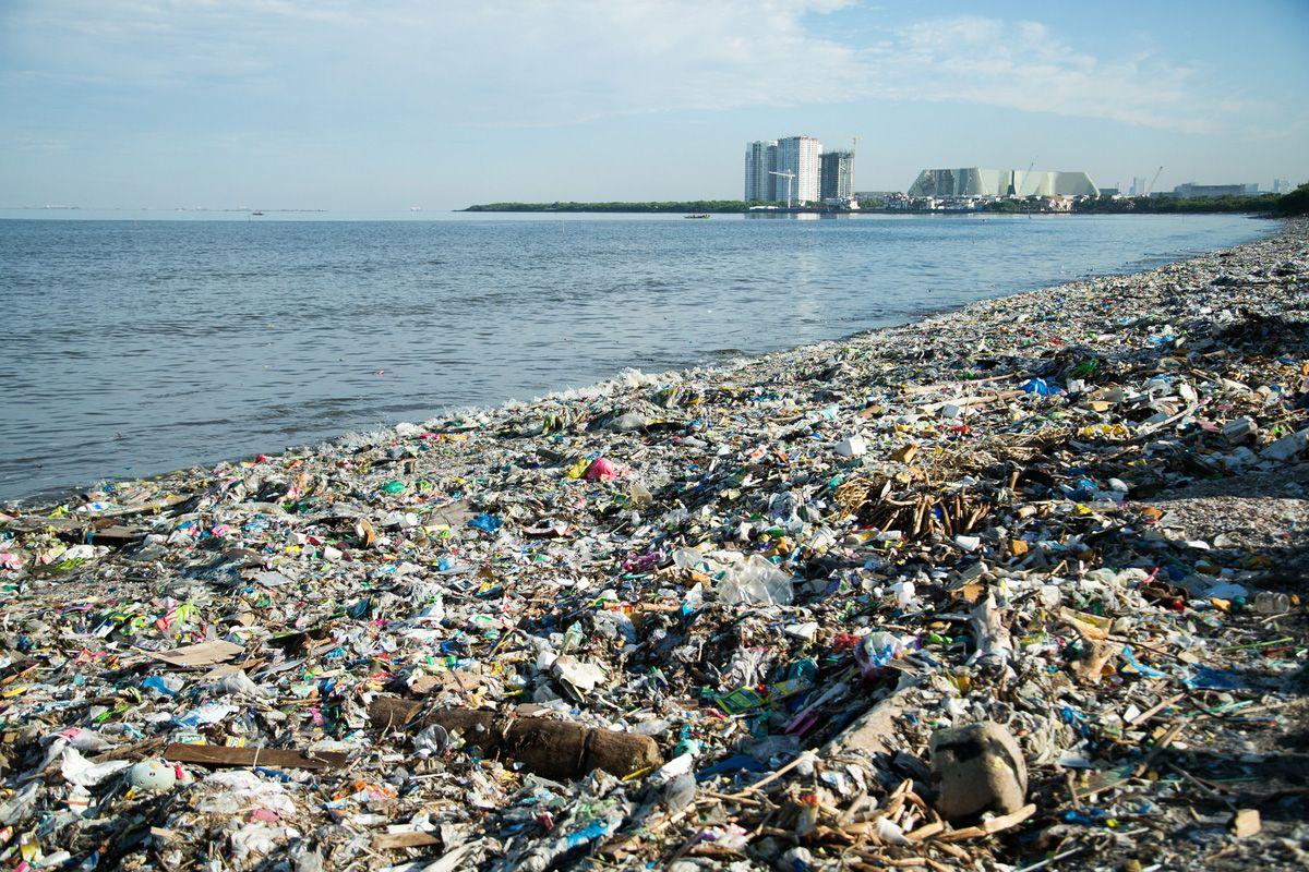 Plastic trash from the 'sachet economy' chokes the