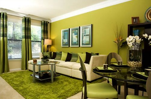 Green family room idea | gardens | Pinterest | Living rooms, Green ...