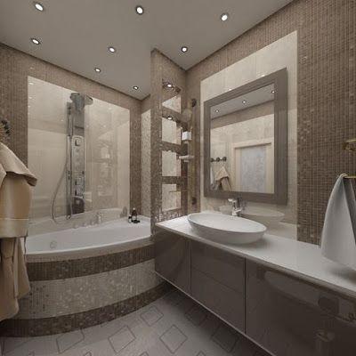 Modern bathroom interior design color combinations tile ideas also rh pinterest