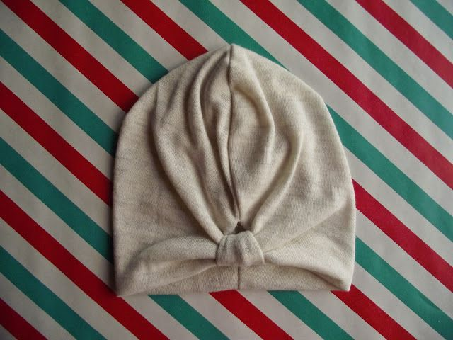 I wear winter: Make Turban for kids!