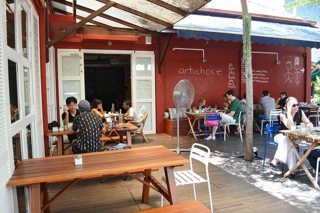 Artichoke Cafe Bar 161 Middle Road Singapore 188978 65 6336 6949 Sgplaces