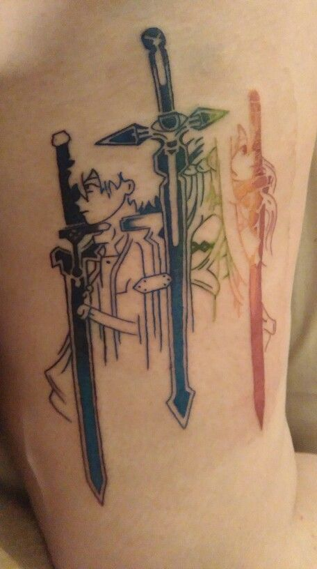 42++ Tatouage sword art online ideas in 2021
