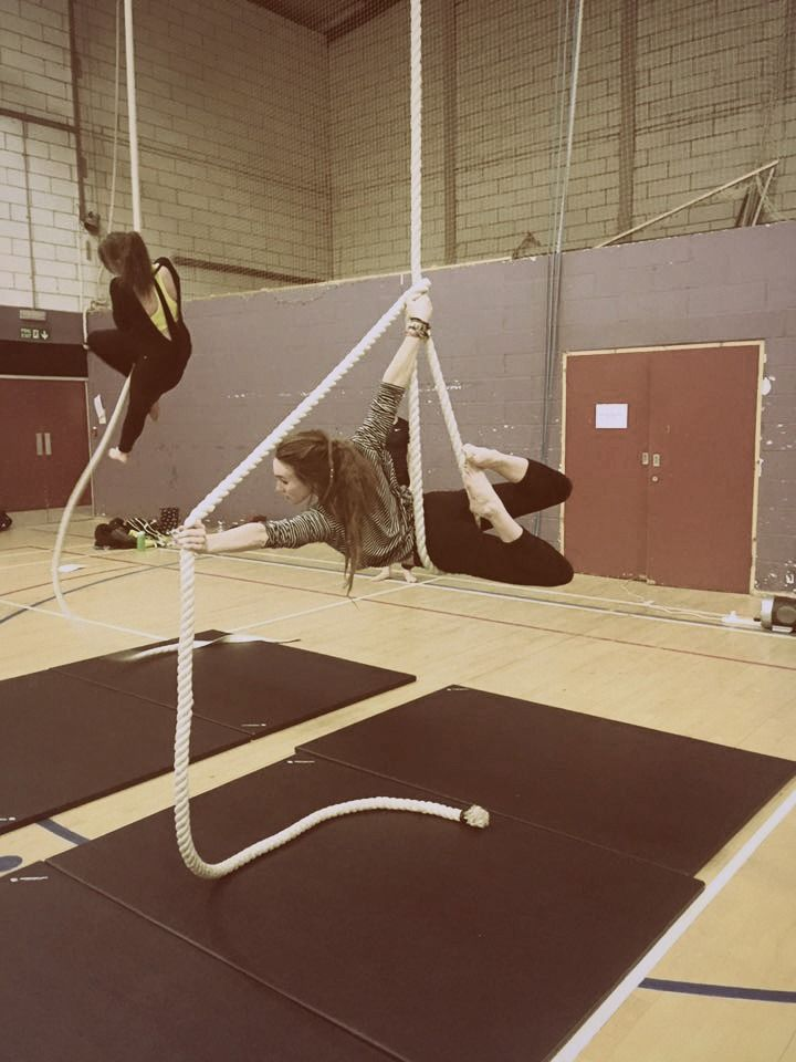 Aerial Rope Move - 'Archer' - Freya Pellie. *could maybe ...