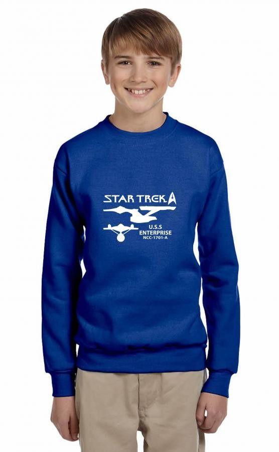 star trek uss enterprise ncc 1701a funny Youth Sweatshirt