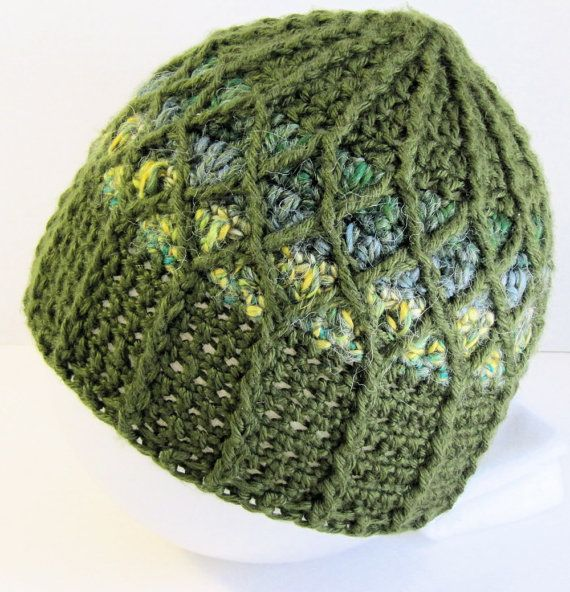 Mens Beanie Upcycled Clothing Recycled Fashion by KnitsForLife ...