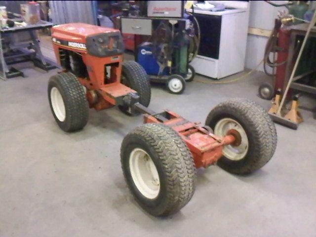 Birth Of A 4wd Articulated Garden Tractor Garden