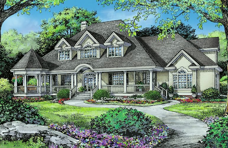 House Plan The Catalina By Donald A Gardner Architects Victorian House Plans House Plans Victorian Homes
