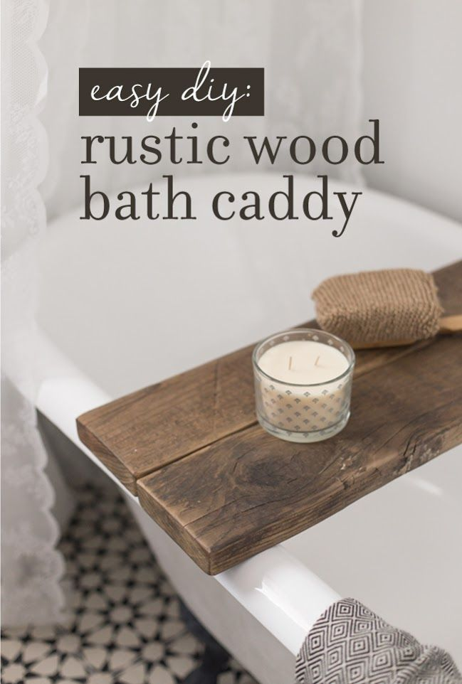 3 Easy (& practically free) DIY Rustic Wood Projects for your ...