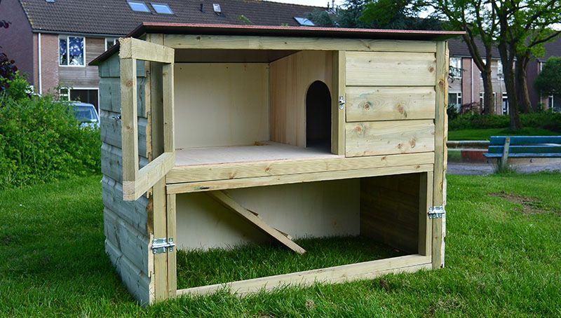 Top Zelf een konijnenhok maken? Dat kan! Download hier direct een &CC59