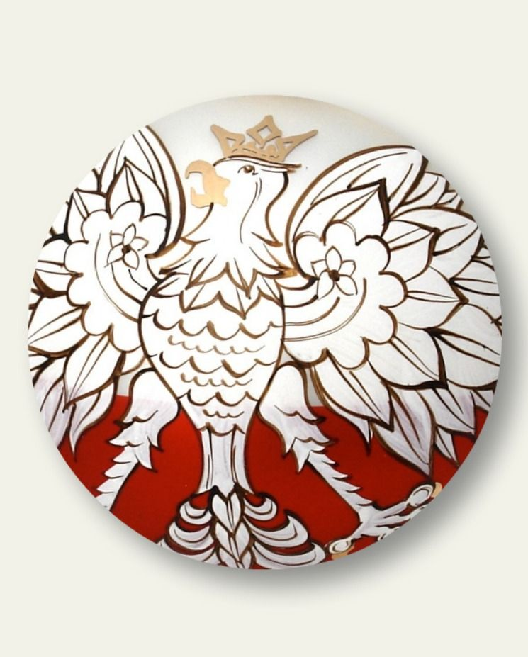 Polish Eagle Ornament {POLAND} Pinterest Ornament - polish christmas decorations