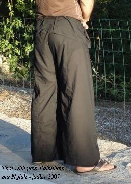 Pantalon ThaïsuiteCouture Du Patron Thai Le wNkX0O8nP