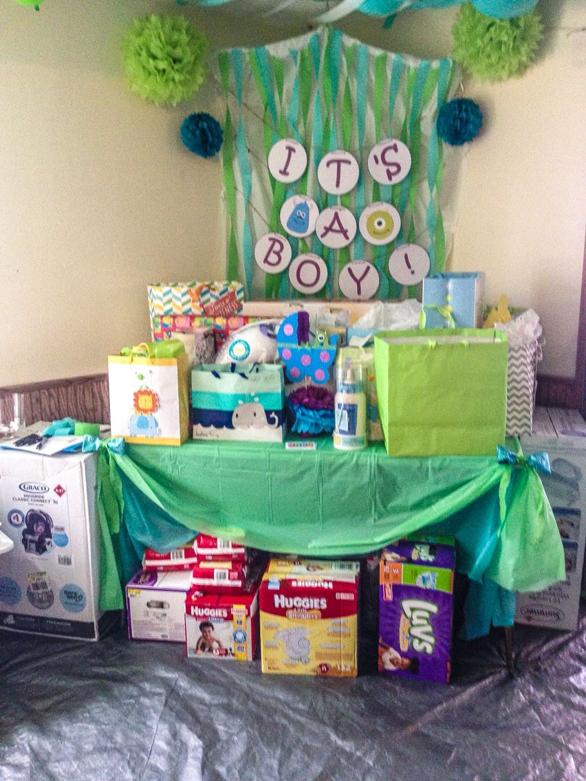 Monsters Inc. Baby Shower Decorations