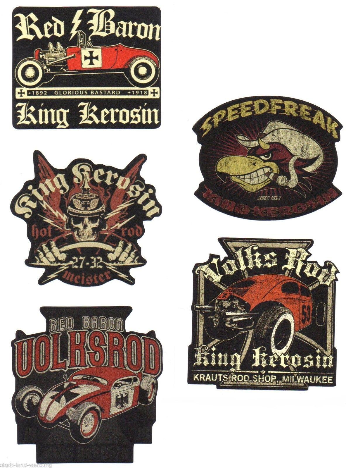 """King Kerosin Poster /"""" Red Baron /"""" Neu"""