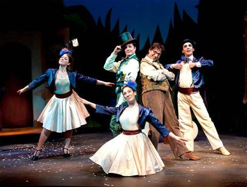 Frog And Toad The Musical Carousel Theater Year With Frog And