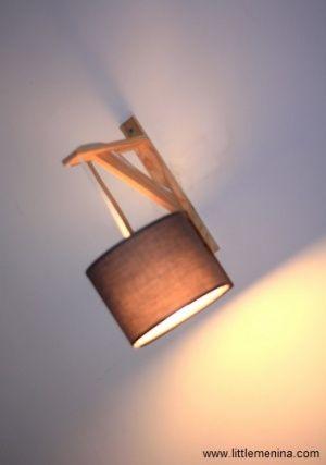 Tutoriel pour fabriquer une lampe applique murale d 39 esprit scandinave il vous faut une - Fabriquer une applique murale ...