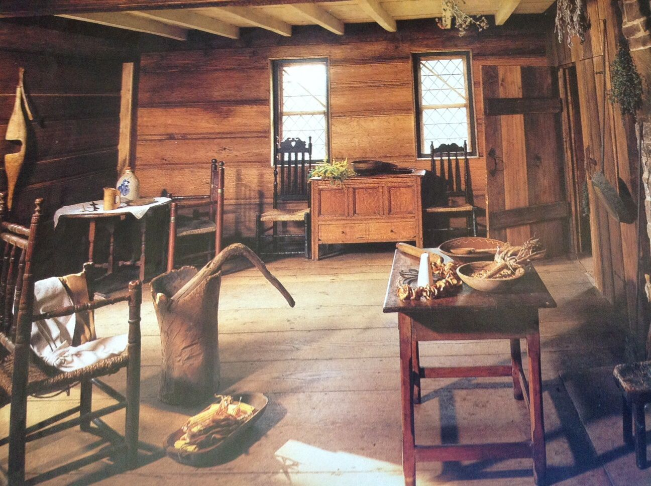 House Style Image Result For Inside 1600 American Cabin