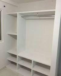 Resultado De Imagen Para Ideas De Roperos Echo De Material Cemento Closet De Tablaroca Diseno De Armario Armarios De Dormitorio
