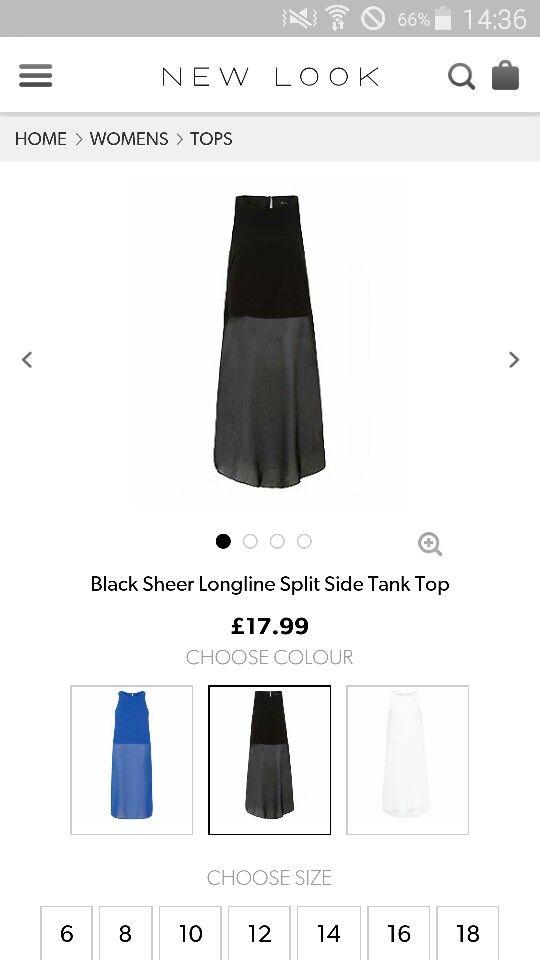 Black sheer