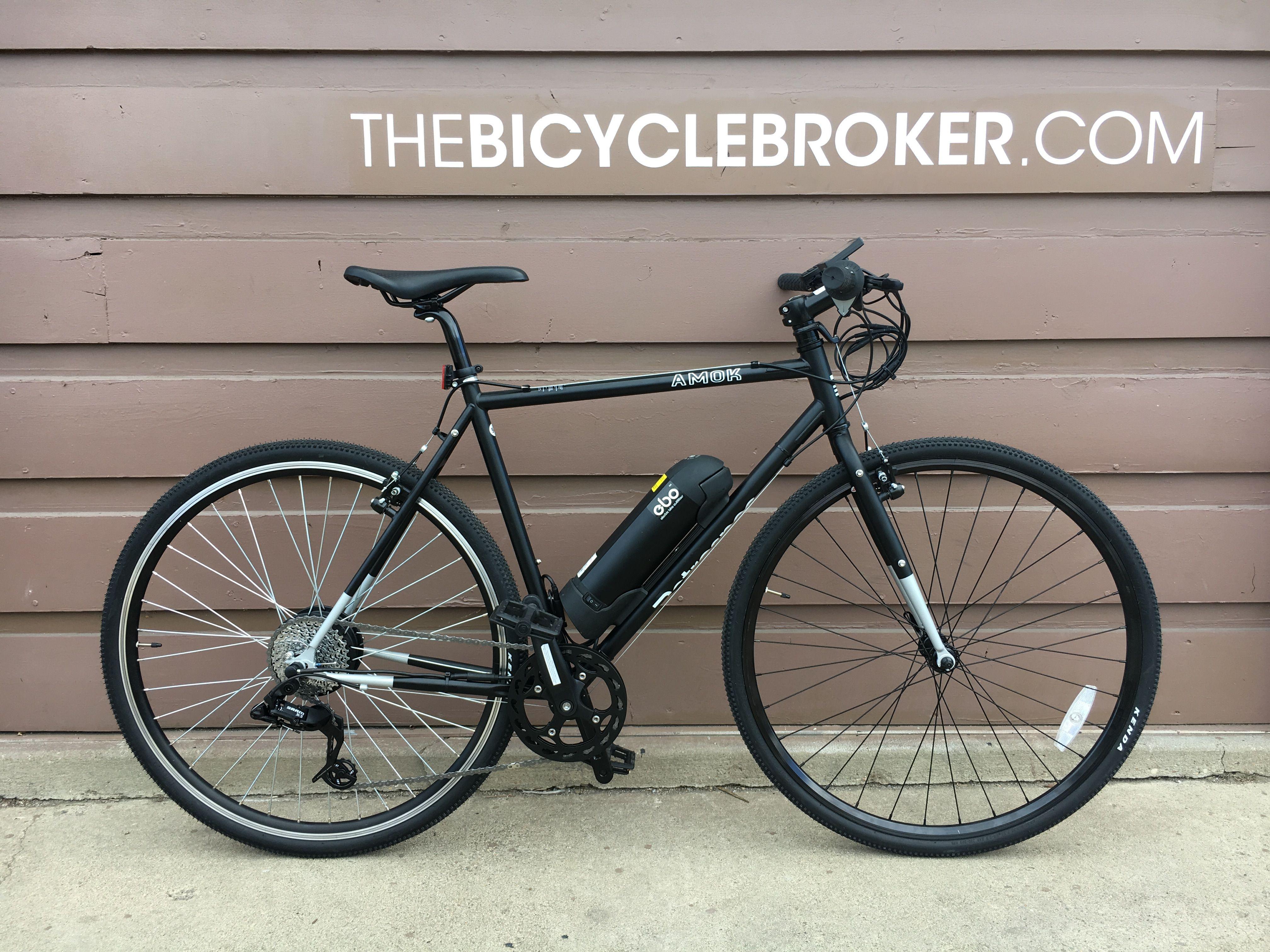 Ebo Phantom Electric Bike Kit Installed On A Retrospec Amok Electric Bike Kits Bike Kit Electric Bike