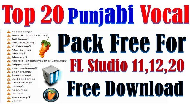 Fl Studio New Vocals Pack vol 1 free download for dj song mix use only - MyHindiPoint