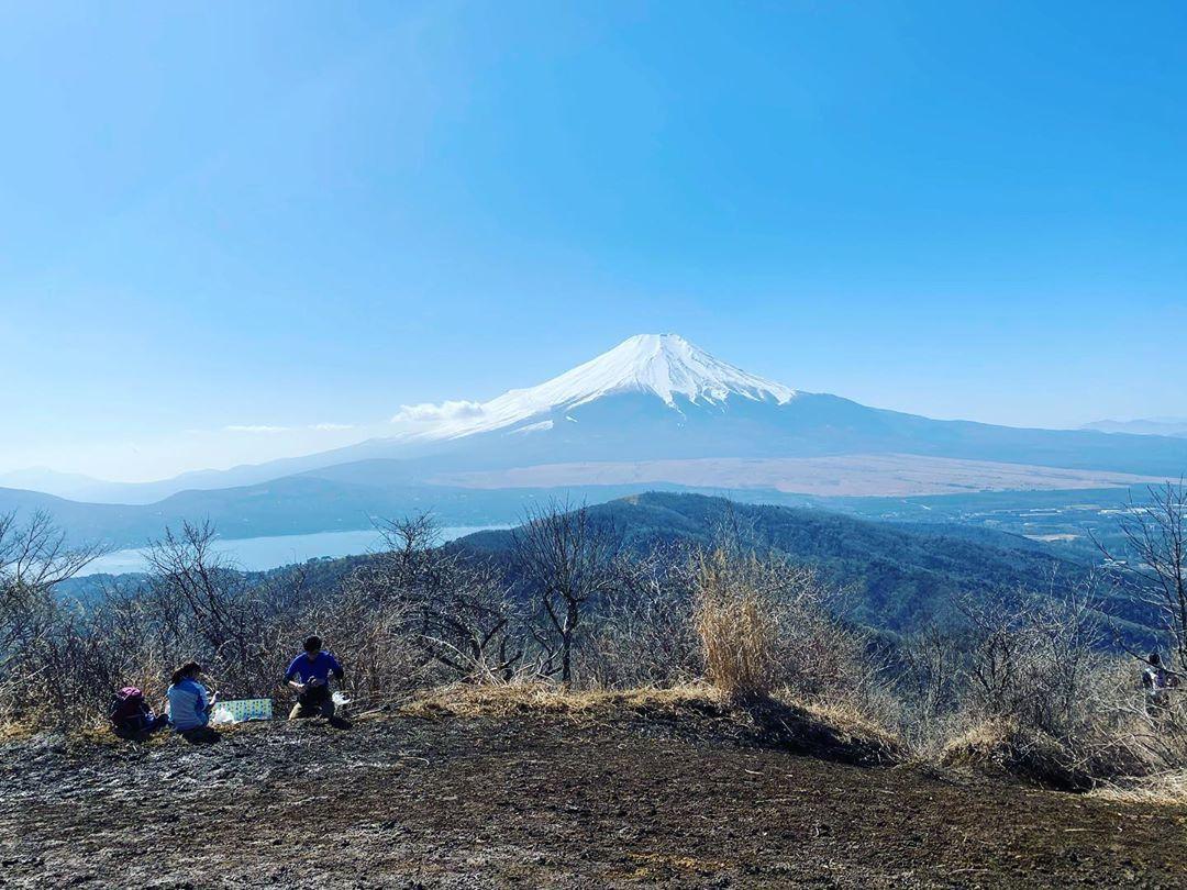 感無量。  #富士山 #石割山 #絶景 #美景 #震える #霊峰富士 #トレッキング #mtfuji #trekking #beautiful #awesome