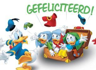 Verjaardag Donald Duck.Pin Van Hanneke Van Op Verjaardag Verjaardag Kaarten