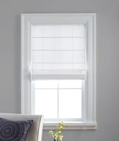 store romain thermique en tissu serg rideaux et stores pinterest habillages. Black Bedroom Furniture Sets. Home Design Ideas