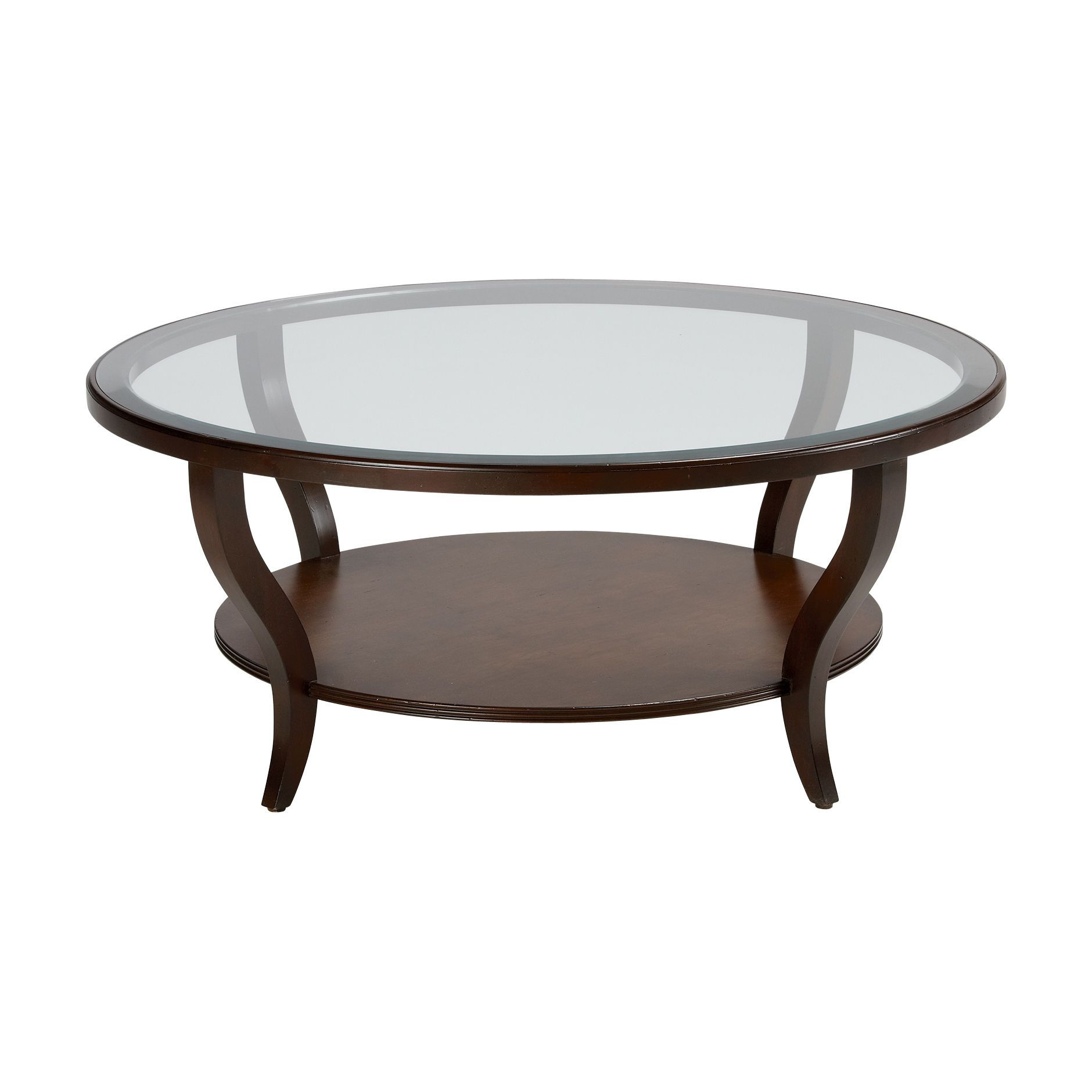 Ethan Allen Coffee Table Glass Top: Cirque Coffee Table - Ethan Allen US$1099 44""