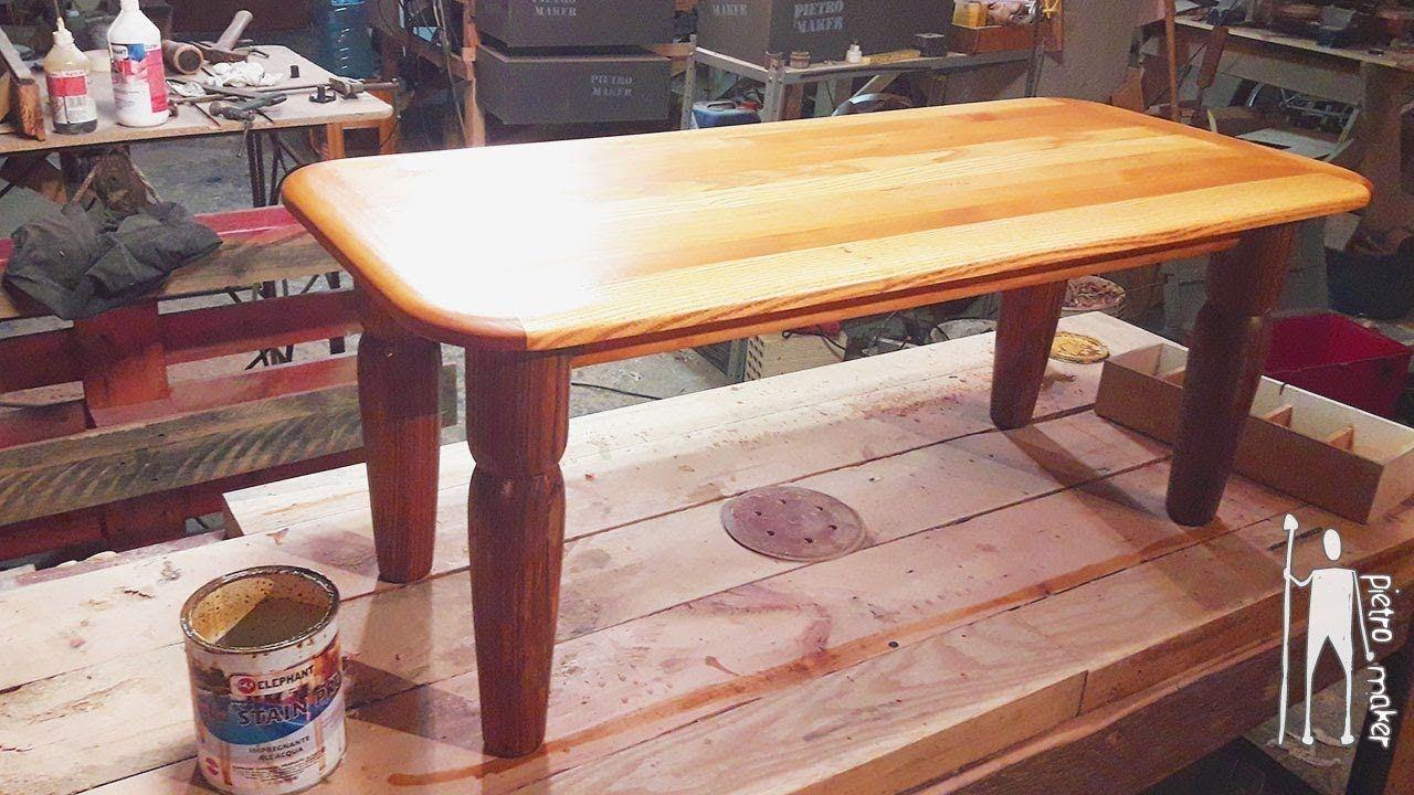 Tavoli Da Salotto Fai Da Te : ✅ come costruire un tavolino da salotto di legno fai da te