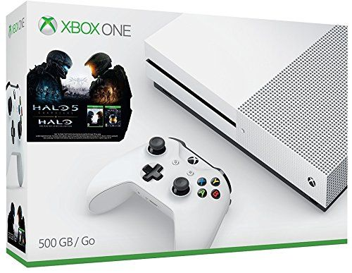 Xbox One S 500GB Console – Halo Collection Bundle
