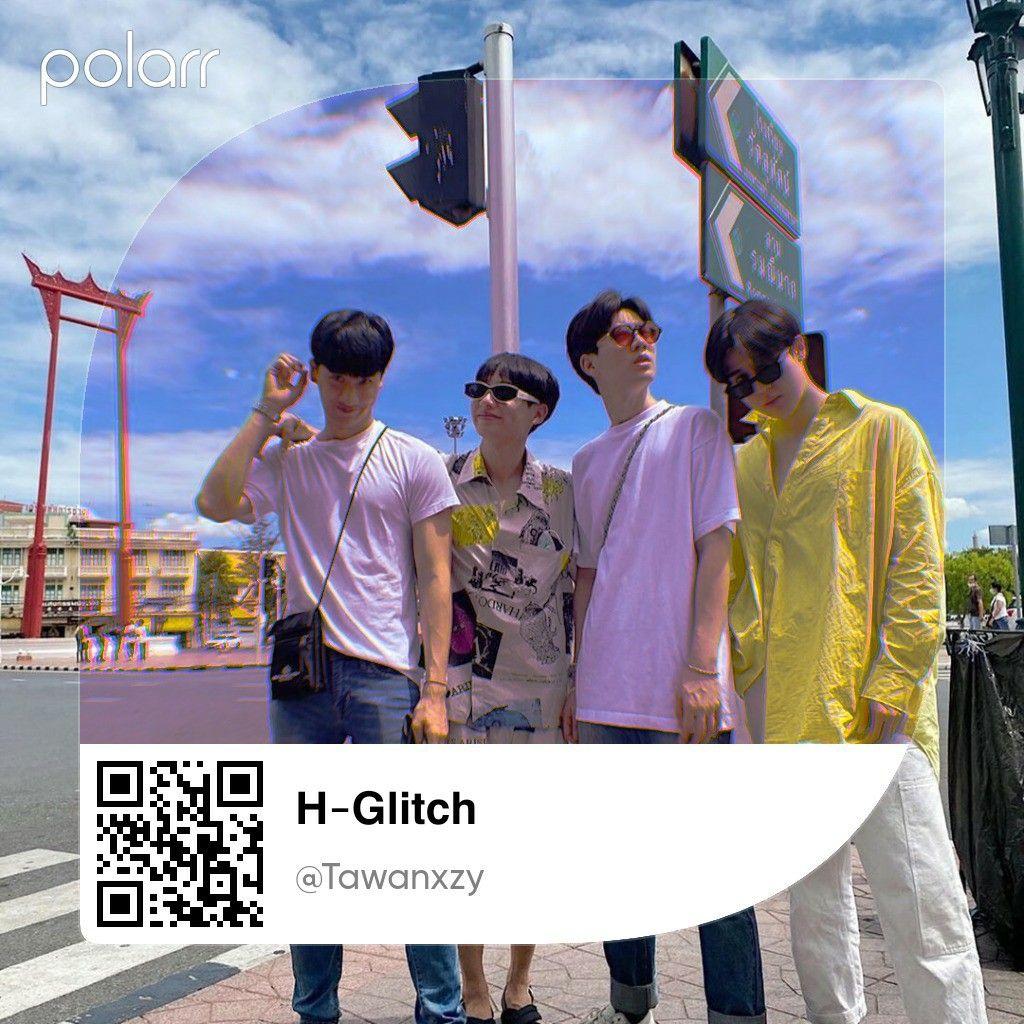 Polarr Code H Glitch Have Fun Warna Fotografi Editorial Suami Saya