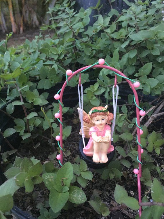 Accessories Gnome Tire Swing Miniature Dollhouse FAIRY GARDEN