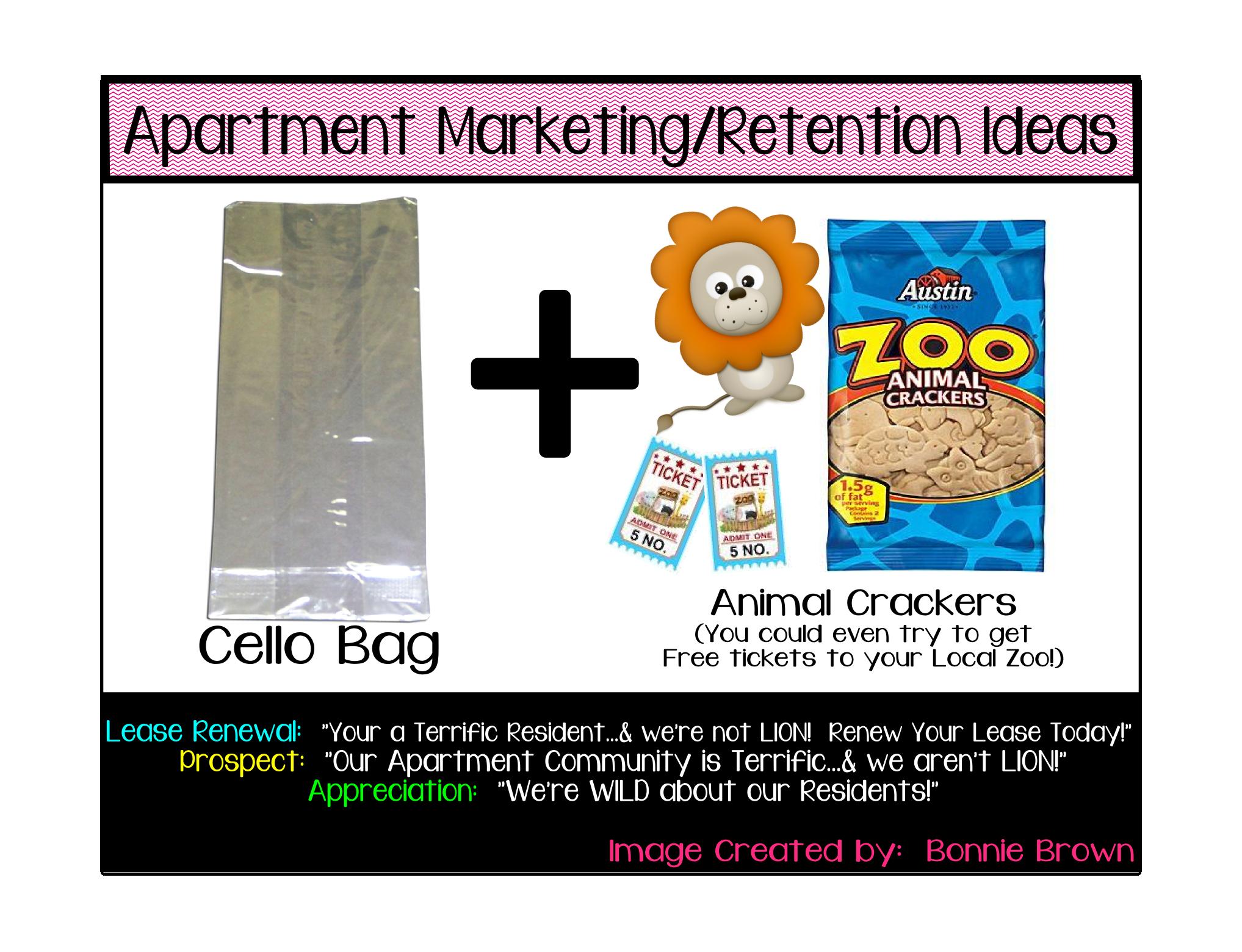 Inexpensive Housewarming Gifts Apartment Marketing Retention Ideas Marketing Ideas