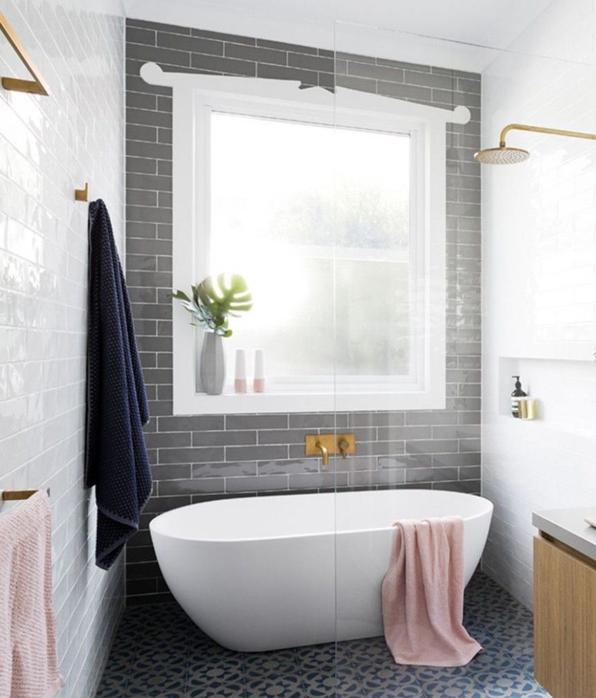 Walk In Shower With Tub Inside Freestanding Tub Shower Guest Bathroom Remodel Small Bathroom
