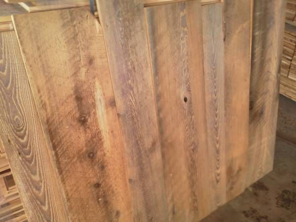 Variety Of Reclaimed Wood Houston